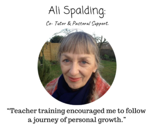 Yoga teacher Ali spalding