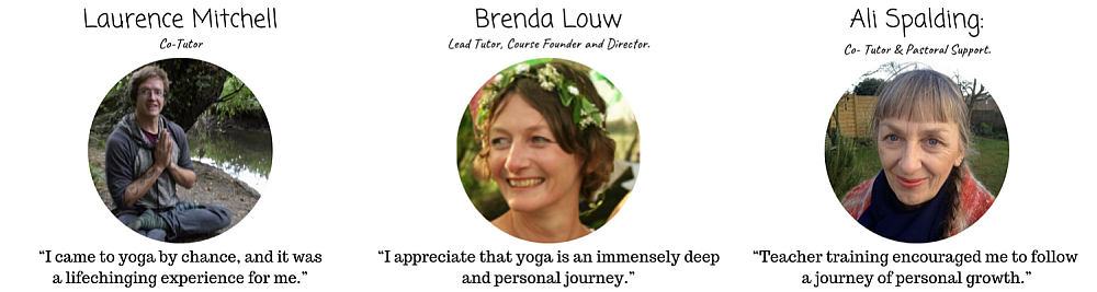 Experienced yoga teachers leading our teacher training course in essex